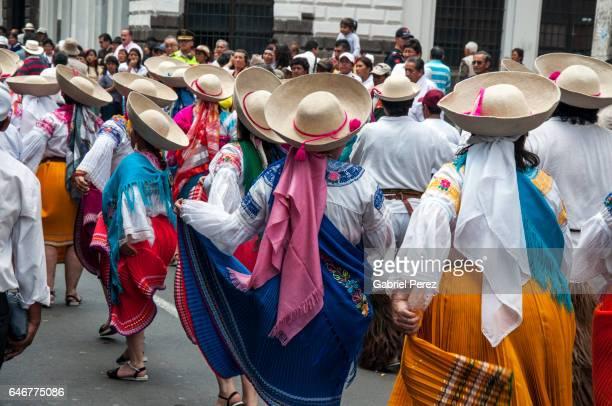 Celebrating The Founding of Quito, Ecuador