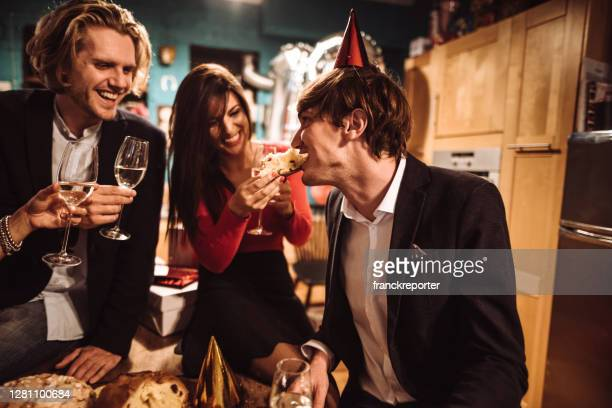 celebrating the new year's eve - political party stock pictures, royalty-free photos & images