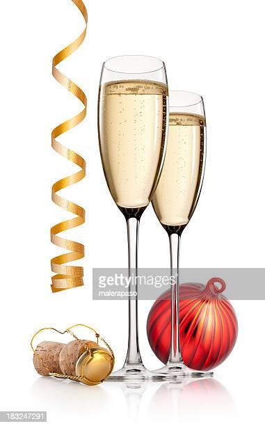Celebración. New Year's pan tostado.