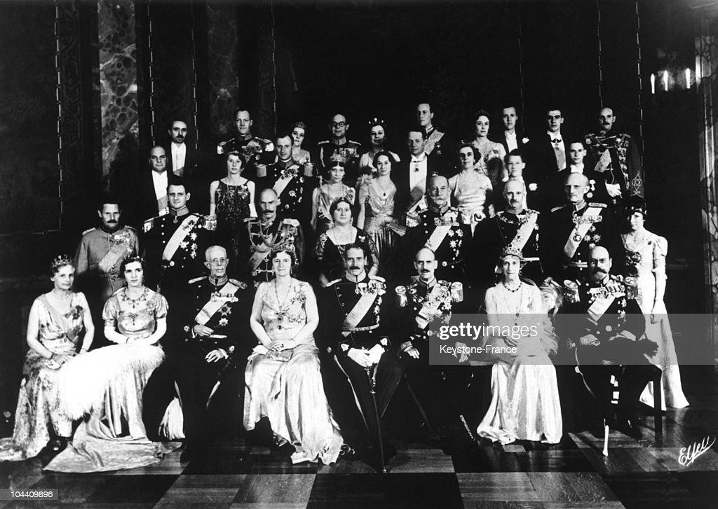Silver Anniversary Of King Christian X Of Denmark In Copenhagen 1937 : News Photo