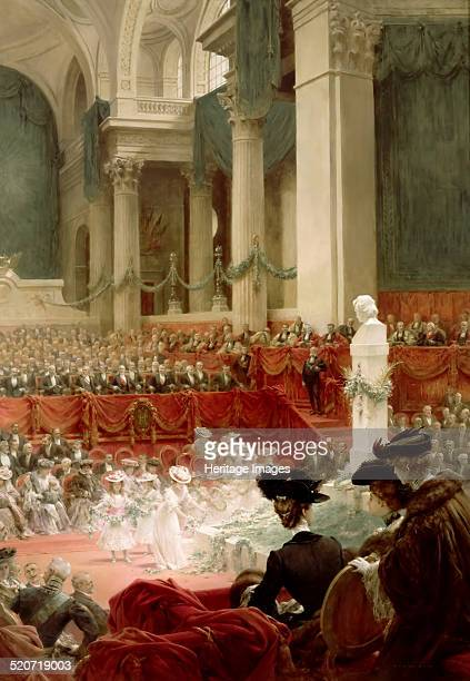 Celebration of the 100th Birthday of Victor Hugo at the Panthéon in Presence of the President Félix Loubet 26 February 1902 Found in the collection...
