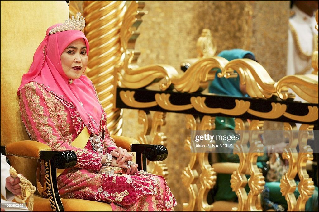 The Fifty-Eighth Birthday Of The Sultan Of Brunei in Bandar Seri Bagawan, Brunei Darussalam on July 15, 2004. : News Photo