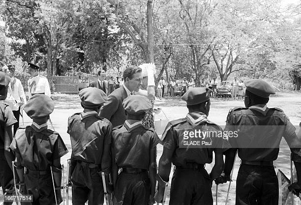 Celebration Of The Independence In Jamaica With The Princess Margaret And Tony Snowdon. Jamaïque, aout 1962, La princesse Margaret, comtesse de...