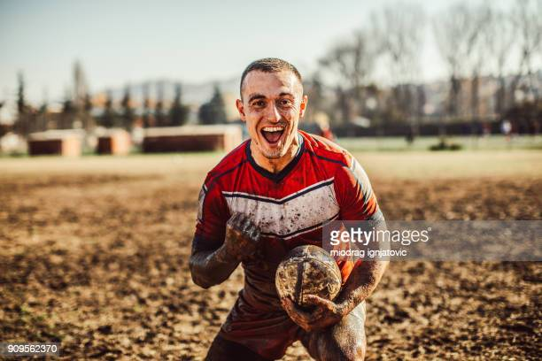 celebration on rugby field - drive ball sports stock pictures, royalty-free photos & images