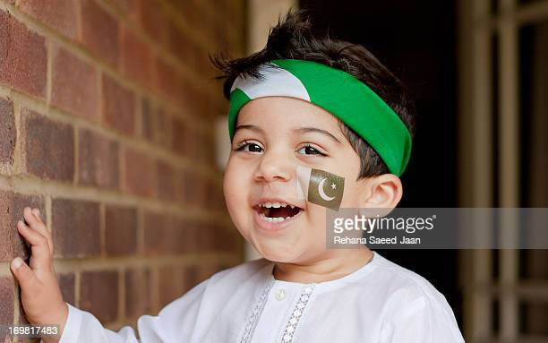 celebration pakistan independence - pakistani flag stock photos and pictures