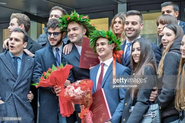 celebration - diploma foto e immagini stock