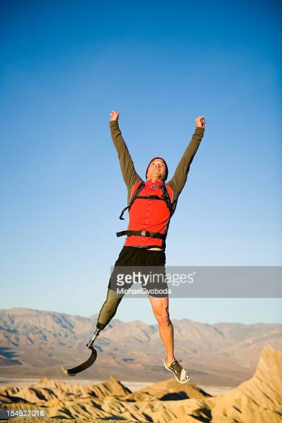 celebration - artificial limb stock photos and pictures