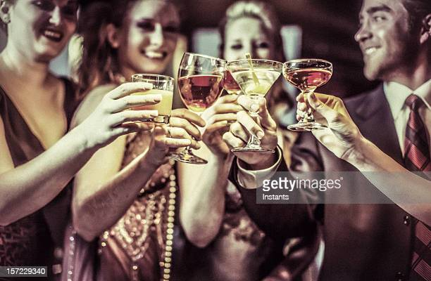 celebration - aperitif stock photos and pictures