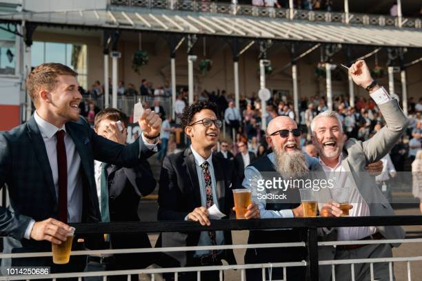 Celebrations At The Horse Racing