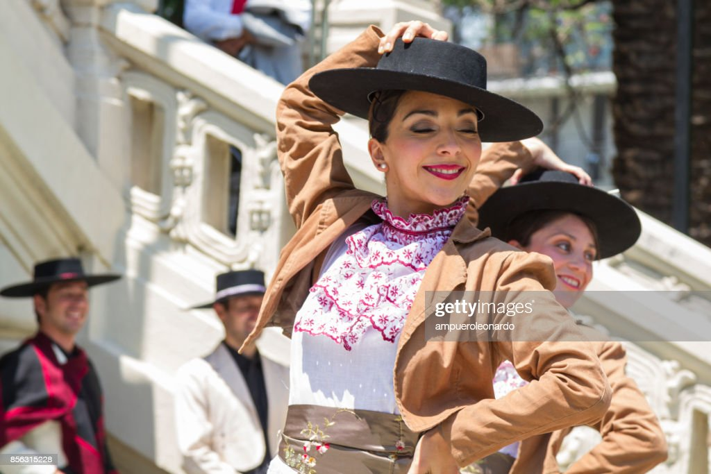 Celebrations of Chile's Independence Day : Stock Photo