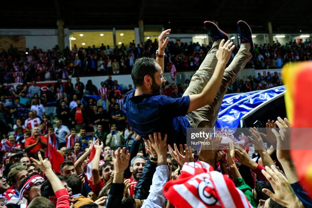 Girona FC v Zaragoza - Spanish Liga 1|2|3 : News Photo