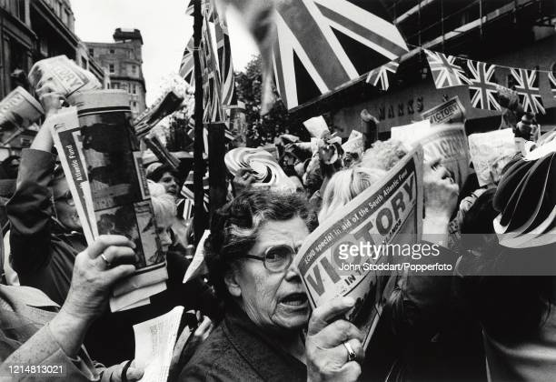 Celebrations on the streets of Liverpool as the Falklands War ends with a British victory. The 1980s saw the City of Liverpool's fortunes sink to...