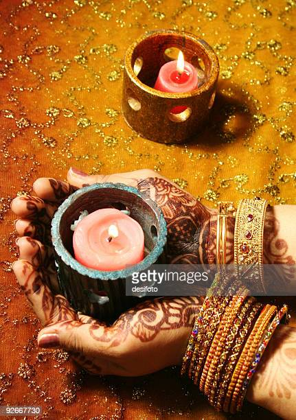 celebrations - diwali stock photos and pictures