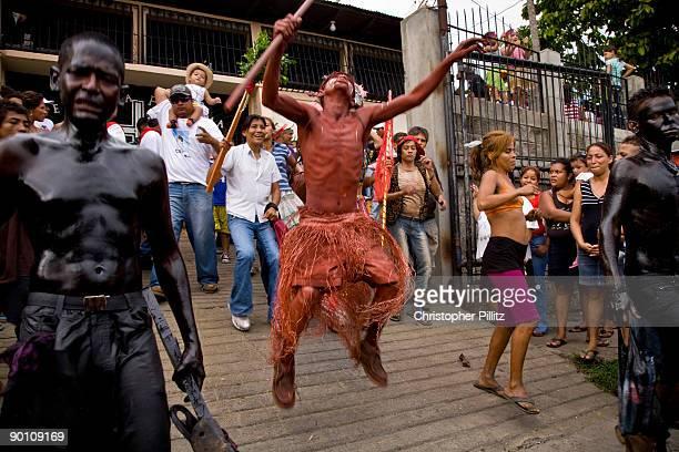 Celebrations to the Patron saint of Managua Santo Domingo