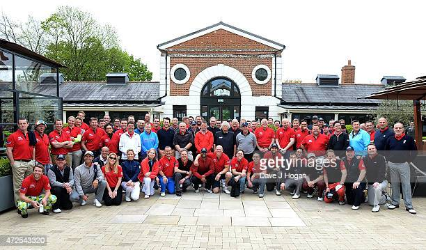 Celebrities and players including Kenny Dalgleish Sir Steve Redgrave Iain Balshaw Brian McFadden Louise Hazel Jodie Kidd JB Gill Mike Tindall Austin...