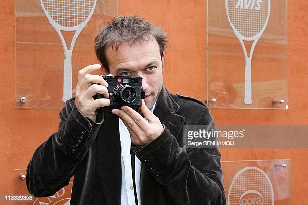 Celebrities At 2008 Roland Garros Tournament In Paris France On June 06 2008 Vincent Perez