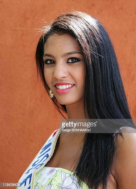 Celebrities At 2009 Roland Garros Tournament In Paris France On June 03 2009 Chloe Mortaud
