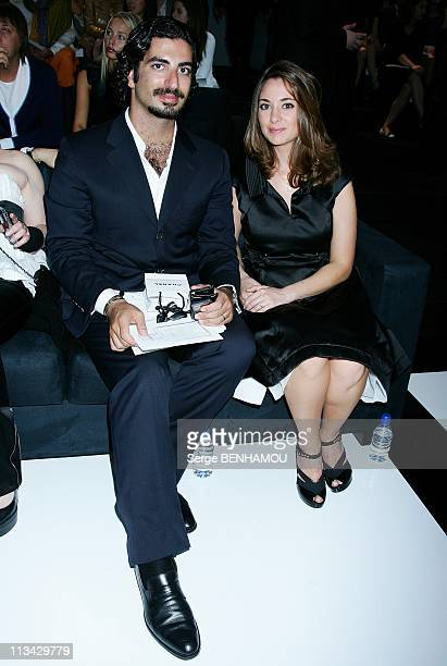 Celebrities At Chanel Haute Couture FallWinter 20092010 Fashion Show In Paris France On July 07 2009 Mister Hariri and his wife