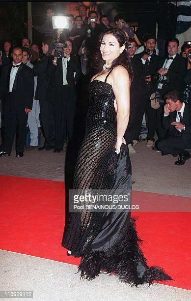 Celebrities At Chopars 70'S In Cannes France On May 12 2000Mouna Ayoub owner of the Phocea