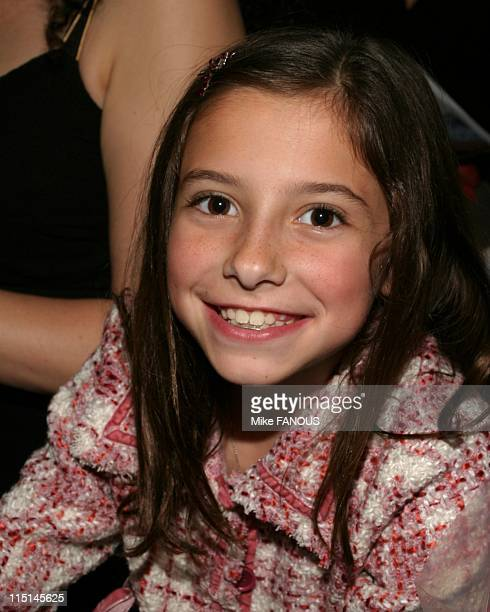 Celebrities at MercedesBenz Fashion Week in Culver City United States on October 27 2004 Lucy Julia RogersCiaffa at the Jenni Kayne spring fashion...