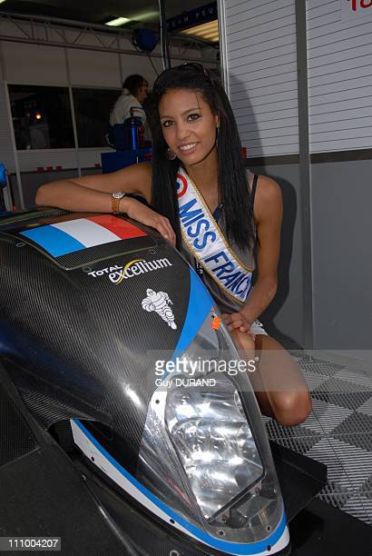 Celebrities at the 24h of Le Mans race in Le Mans France on June 14th 2009 Chloe Mortaud