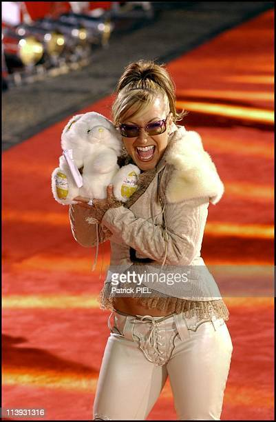 Celebrities At The Gold Camera 2002 Awards In Berlin Germany On February 05 2002Anastacia