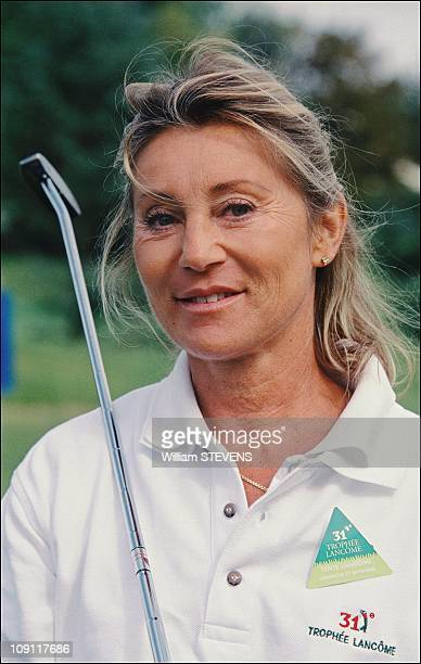 Celebrities At 'Trophee Lancome' On September 16Th 2000 In Saint Nom La Breteche France Sheila