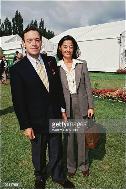 Celebrities At 'Trophee Lancome' On September 16Th 2000 In Saint Nom La Breteche France Lindsay OwenJones Wife