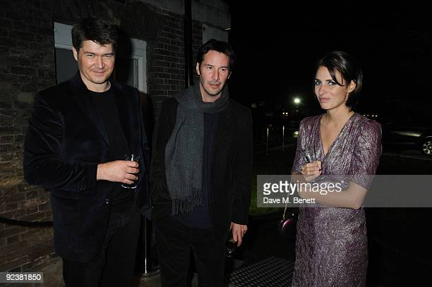 Celebrities attend Nicky Haslam's party for Janet de Botton to beat the CreditCrunch at his ancestral home Parkstead House in Roehampton London on...