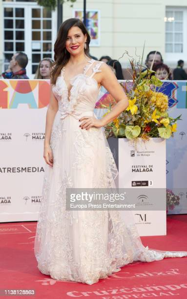 celebrities attend the Malaga Film Festival 2019 closing day gala at Cervantes Theate on March 23 2019 in Malaga Spain