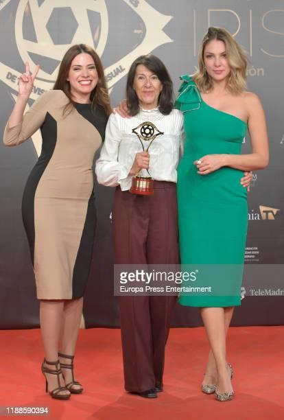 Celebrities attends 'Iris Academia de Television' awards at Nuevo Teatro Alcala on November 18 2019 in Madrid Spain
