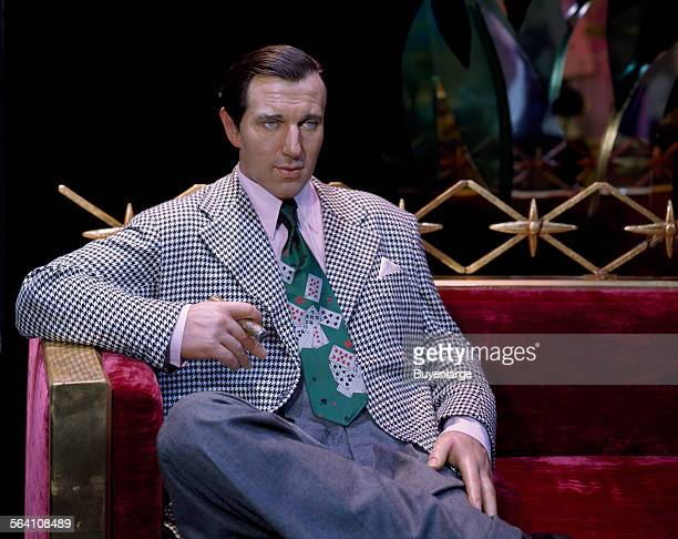 Celebrities cloned at Madame Tussaud Wax Museum inside the Venetian Hotel include the mobster Benjamin Bugsy Siegel who built the Flamingo Hotel Las...