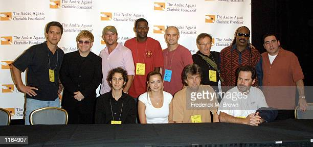 Celebrities Josh Groban Charlotte Church David Foster Dennis Miller Ray Romano Elton John Tim McGraw Brian McKnight Andre Agassi Robin Williams...