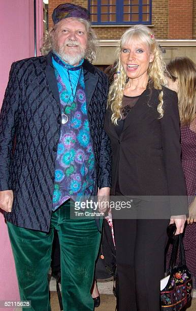 Celebrity And Author The Marquis Of Bath Arriving With Lady Believed To Be Ulla Turner At The Opening Of The Fashion And Textile Museum In Bermondsey...