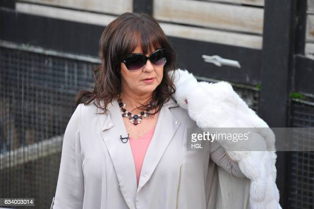 Celebrity Big Brother winner Coleen Nolan seen filming for the Loose Women show on February 6 2017 in London England