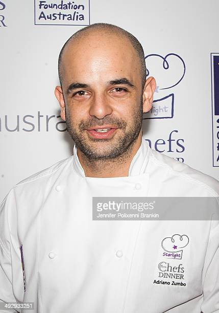 Celebrity Chef Adriano Zumbo at the Starlight Foundation Five Chefs Dinner at the Four Seasons Hotel on May 22 2014 in Sydney Australia