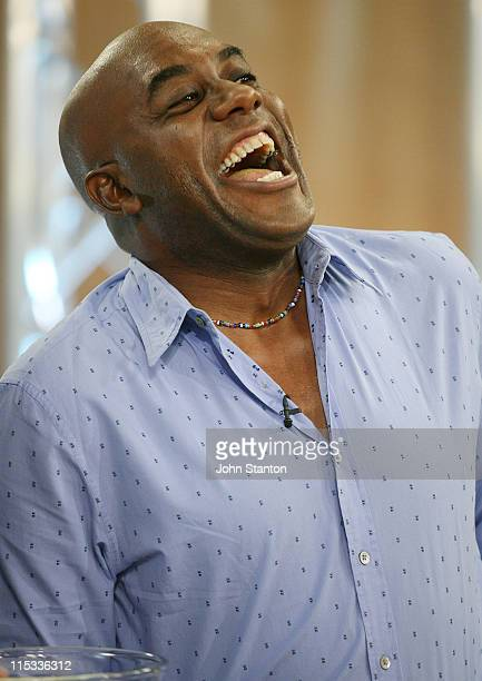 Celebrity Chef Ainsley Harriott during Ainsley Harriott Visits 'Sunrise' May 30 2007 at Channel 7 Sydney in Sydney NSW Australia