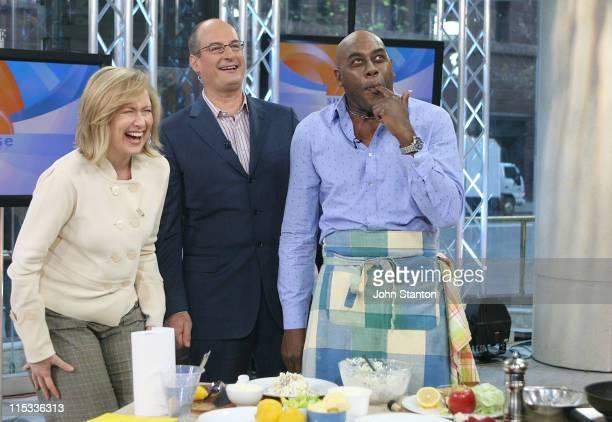 Celebrity Chef Ainsley Harriott with hosts Melissa Doyle and David Koch