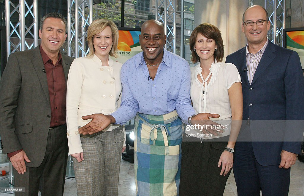 "Ainsley Harriott Visits ""Sunrise"" - May 30, 2007"