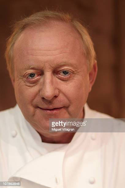 Celebrity Chef Alfons Schuhbeck looks on as he poses for a picture on January 4 2011 in Munich Germany
