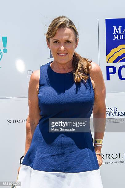 Celebrity Chef and author Donna Hay attends Magic Millions Polo at Doug Jennings Park on January 8 2017 in Gold Coast Australia