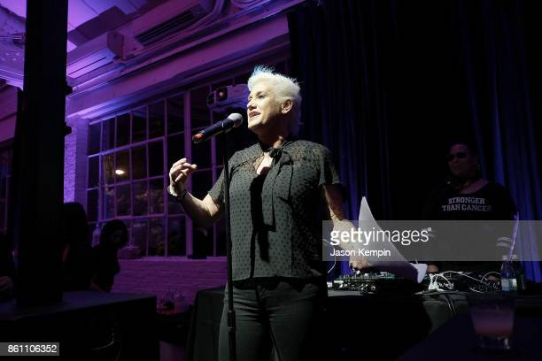 Celebrity Chef Anne Burrell attends the Food Network Cooking Channel New York City Wine Food Festival Presented By CocaCola Ladies' Night Craft...