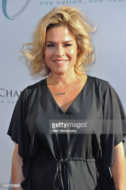 Celebrity Chef Cat Cora attends the 4th Annual Life Changing Lives Gala Honoring Muhammad Ali at City National Grove of Anaheim on September 11, 2011...