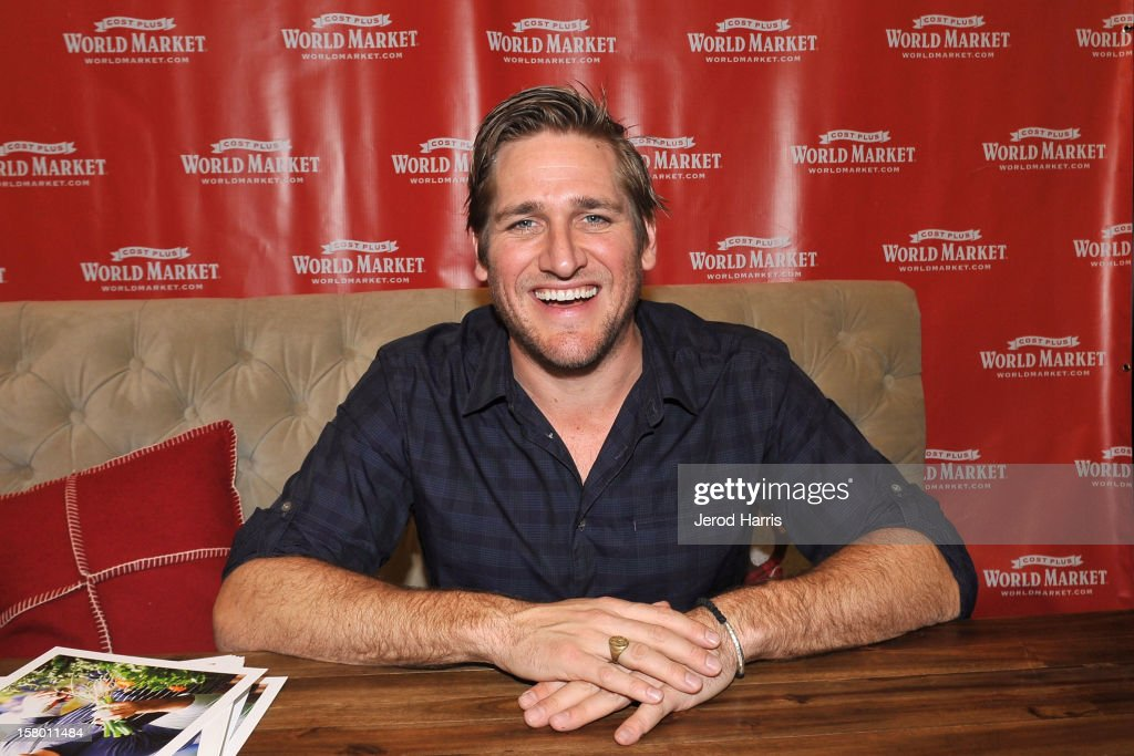 Celebrity Chef Curtis Stone attends Cost Plus World Market's Share the Joy event at Cost Plus World Market on December 8, 2012 in Los Angeles, United States.