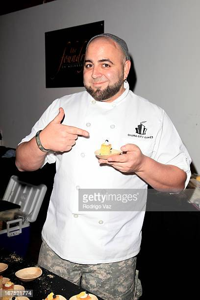 Celebrity chef Duff Goldman attends the LA Family Housing Awards 2013 at Book Bindery on April 25 2013 in Culver City California