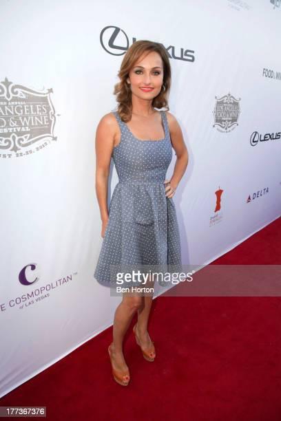 Celebrity chef Giada De Laurentiis attends the Festa Italiana with Giada de Laurentiis opening night celebration of the third annual Los Angeles Food...
