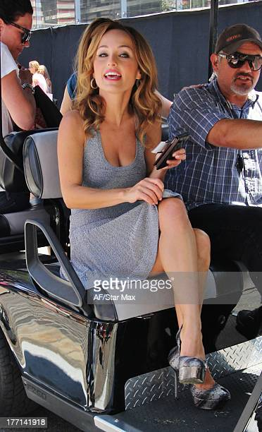 Celebrity chef Giada De Laurentiis is seen on August 20 2013 in Los Angeles California