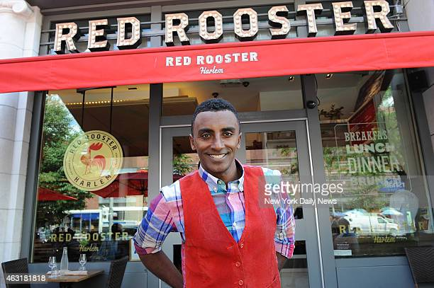 Celebrity chef Marcus Samuelsson at his Harlem restaurant Red Rooster He wrote a memoir titled 'Yes Chef'