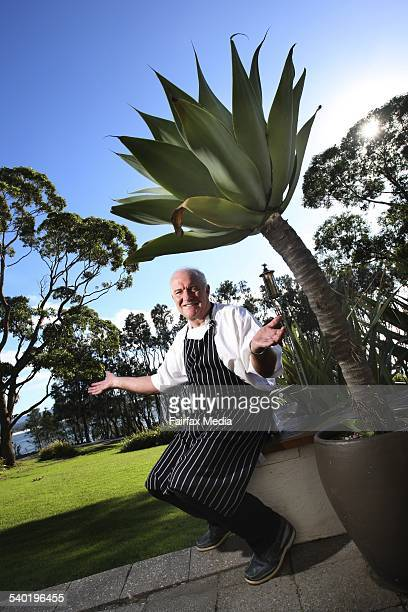 Celebrity chef Rick Stein at his restaurant Bannisters Hotel in Mollymook on the NSW South Coast