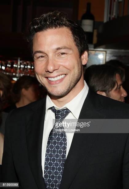 Celebrity chef Rocco DiSpirito attends a party for Trumbo hosted by the Cinema Society ACLU on June 16 2008 at Tribeca Cinemas in New York